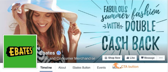 EBATES WANTS PEOPLE TO SHOP, SO IT LINKS THEM TO THEIR SHOPPING SITE