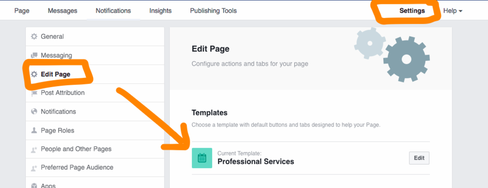 Go to your rescue page and select 'Settings' in the top right-hand corner. Then scroll on the left-hand side to 'Edit Page' and you will see 'Templates' appear