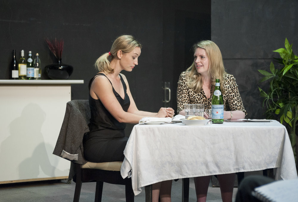Rachael Blackwood (right) at Howard Fine's 2015 Master Class