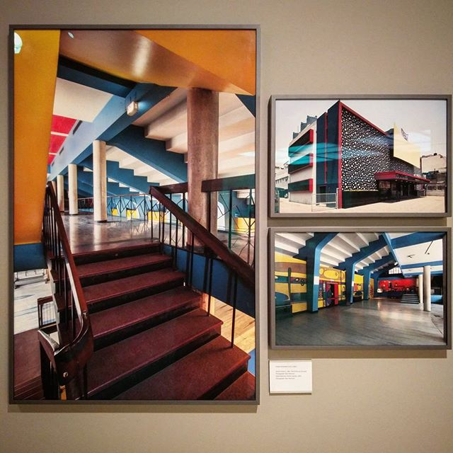 "Beautiful architectural photography of our favourite movie theatre in #Delhi - Shiela Cinema Hall, are now on display as part of @KNMAindia's #NewExhibition ""Stretched Terrains"". .  The exhibition presents modernist experiments in architecture alongside new explorations by artists through films and photography. Must go check these out! . . . #indiaartfair2017 #southasianart #contemporaryart #communityart #delhiiloveyou #delhiwalkfestival #justdelhiing #vsco #vscocam #india_gram #indianphotography #_soidelhi #_soi #dfordelhi #vscoindia #justdelhiing #socalitynewdelhi #socalitydelhi #delhiinstameet #ifoundawesome #ig_delhi #401reasons #DelhiTourism #VisitDelhi #DelhiHeroes #IndiaArtFair"