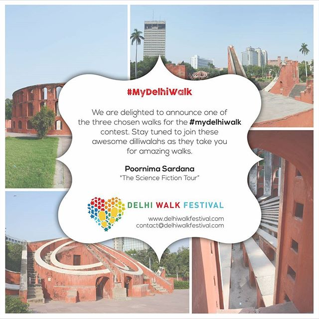"""We're delighted to announce one of our three #MyDelhiWalk winners. """"The Science Fiction Tour"""" will be lead by Poornima Sardana, of The Mazzedaar Laboratory - a series of experiments in education across public spaces.  #GetReady to walk through the National Science Centre following a science fiction narrative exploring Human Biology Gallery, Prehistoric Life, Nuclear Power and the Exhibition on Information Revolution. . . .  #delhiwalkfestival #dwf3 #socialoffline #DelhibyMetro #alpaviram #storiesofindia #photooftheday #inspiroindia #justdelhiing #india_gram #indianphotography #_soidelhi #_soi #dfordelhi #vscoindia #justdelhiing #everydayindia #natgeotravelindia #socalitynewdelhi #socalitydelhi #delhiinstameet #lonelyplanetindia #incredibleindia #lonelyplanet #ifoundawesome #ig_delhi #401reasons #socialoffline"""