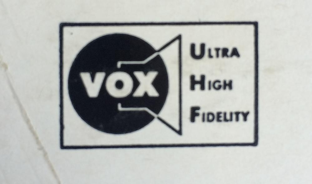 Vox Logo is nice.