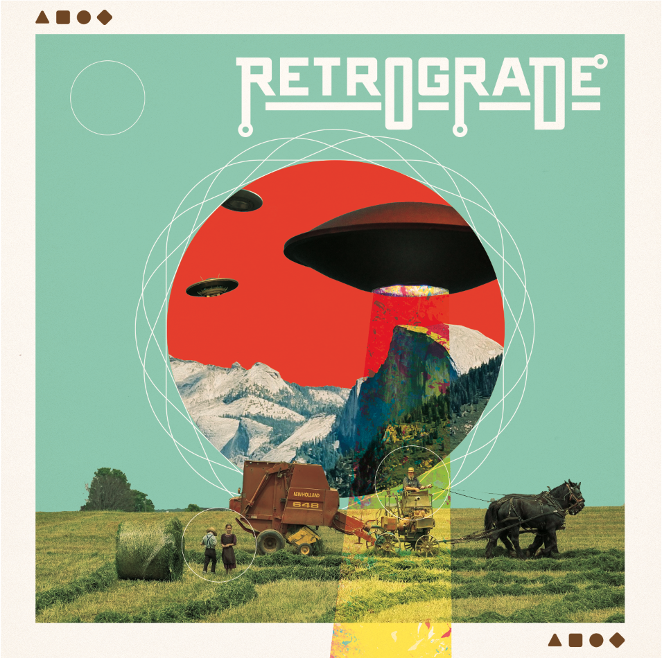 Album cover for Austin HipHop duo Retrograde