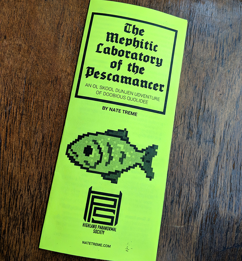 Fish Lab Pamphlet