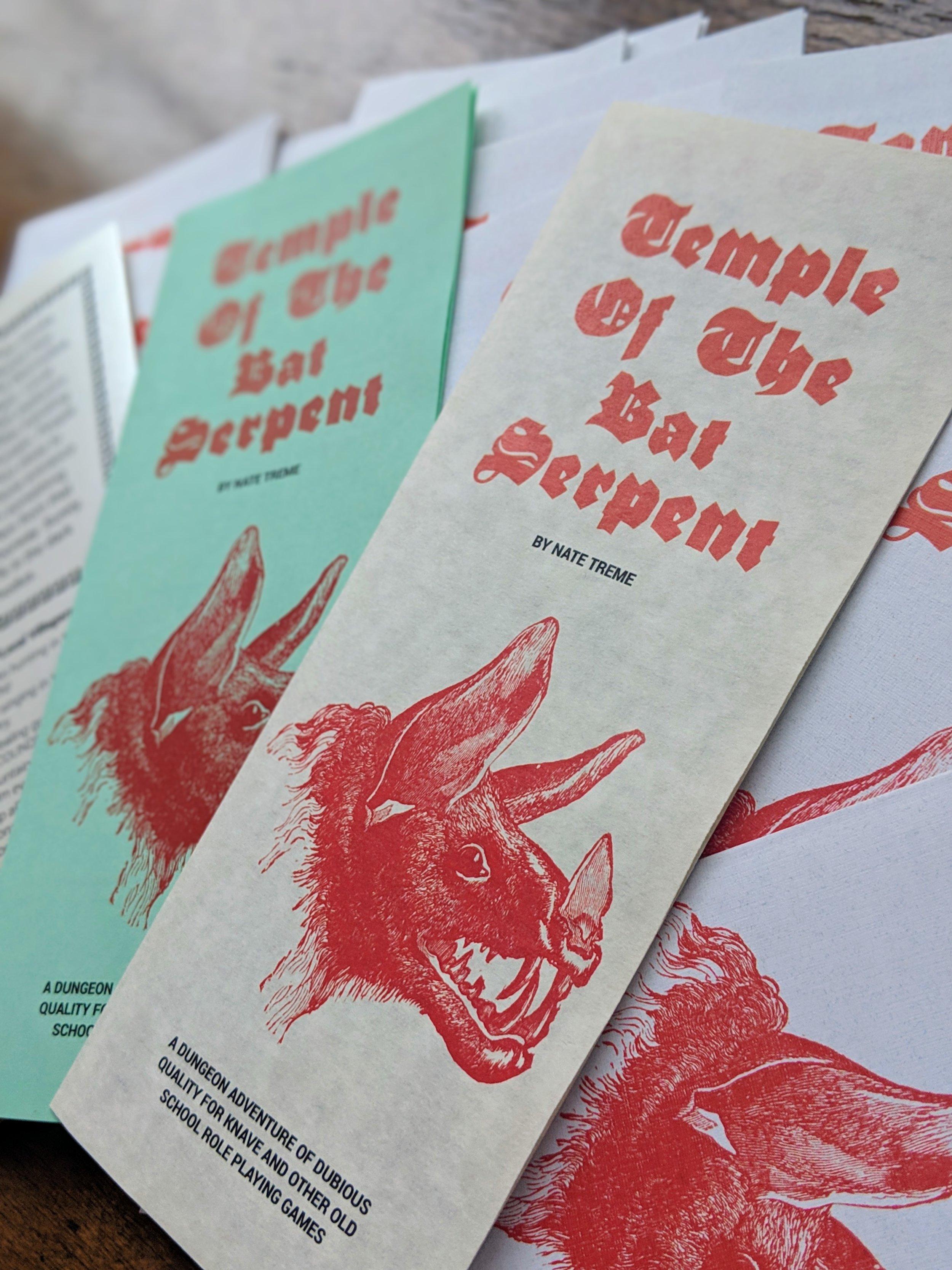 Bat Pamphlets