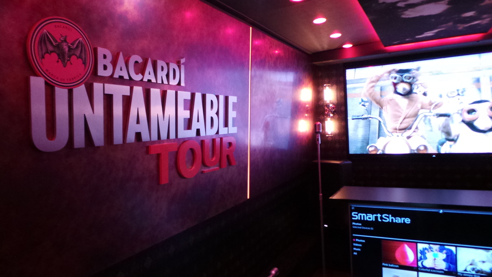 Bacardi Untameable Tour