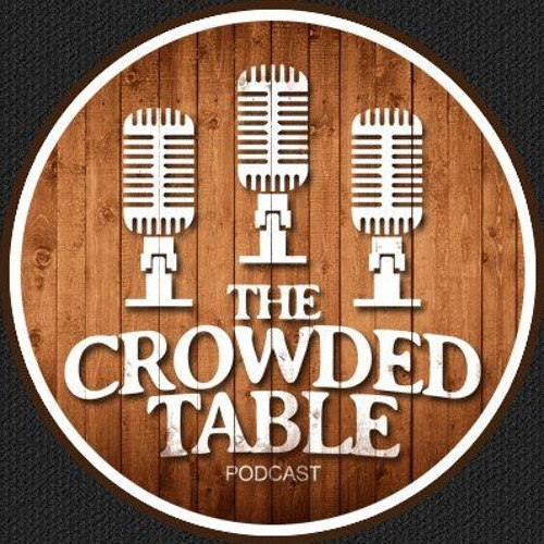 """Free """"The Crowded Table"""" sticker"""