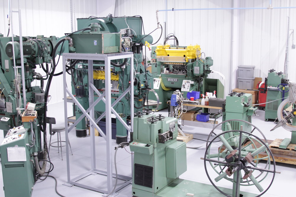 Stamping - Precision Progressive Prototype30 Ton60 Ton