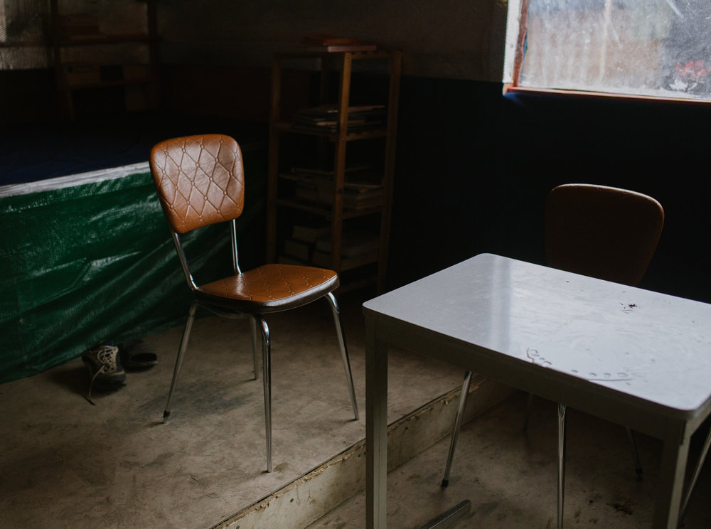"""A seat at the table"" // Calais Jungle"