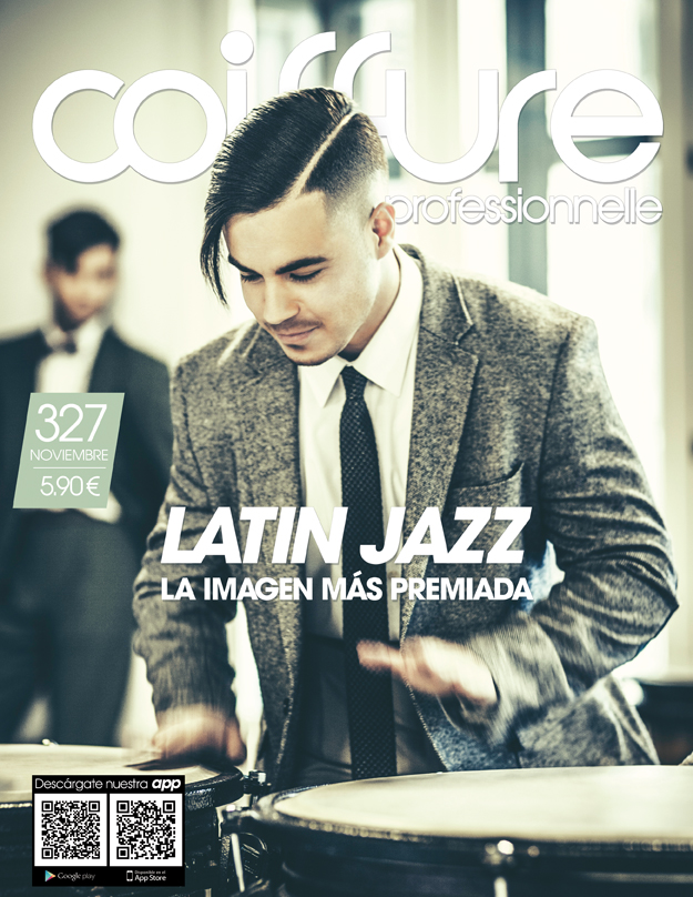 New cover in Coiffure Professionnelle.