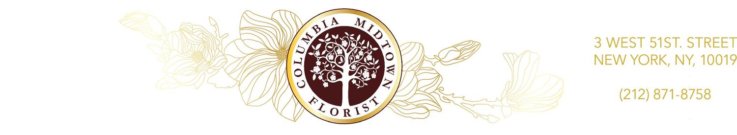 Columbia Midtown Florist | Manhattan's Premier Custom Flowers Delivery Service