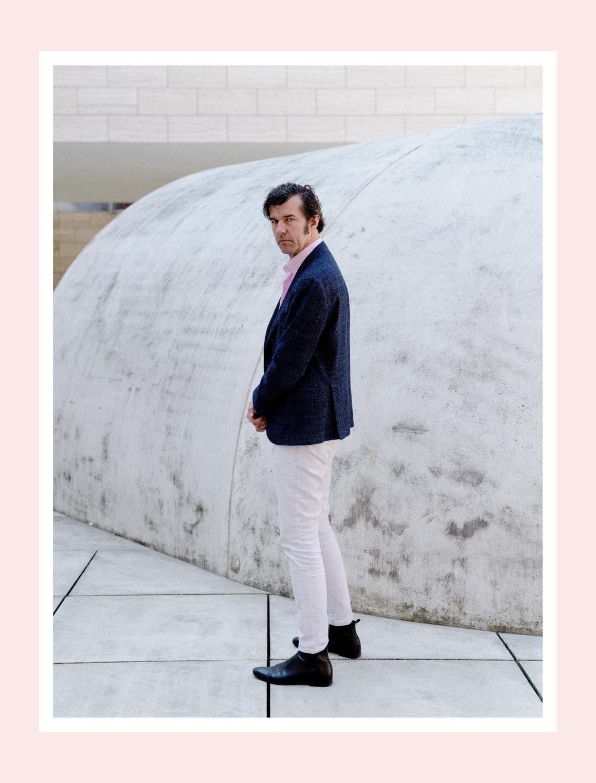 Stefan Sagmeister for Monocle.