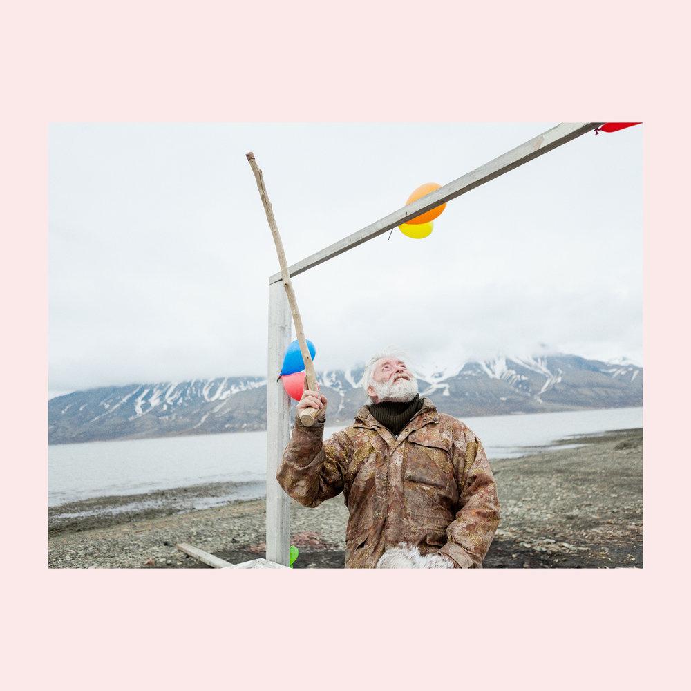 Svalbard, part documentary fashion story for Code (NL).  Style by: Kanako Koga