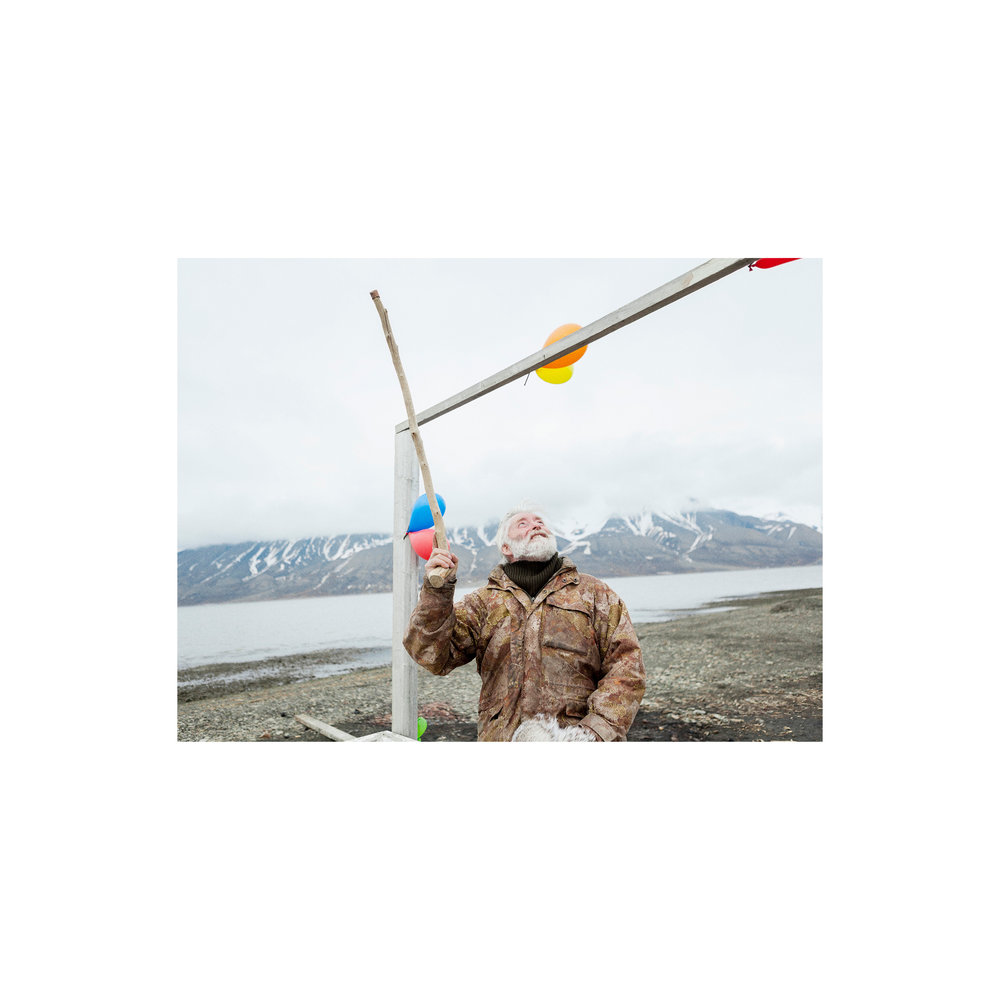 Svalbard story for Code (NL).  Style by Kanako Koga