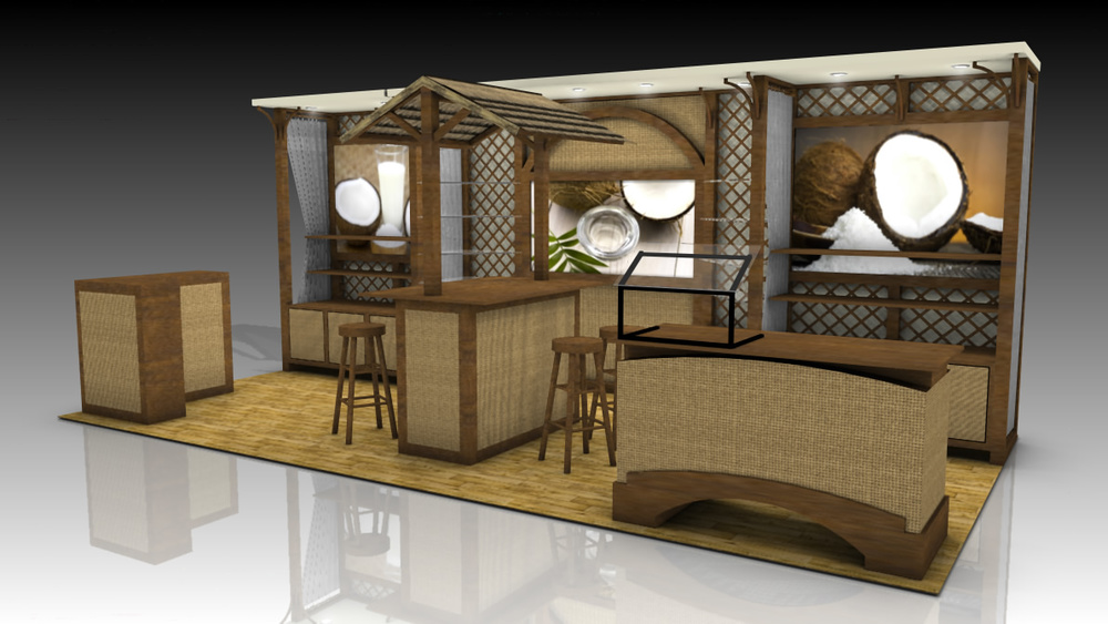 10x20 tradeshow exhibit