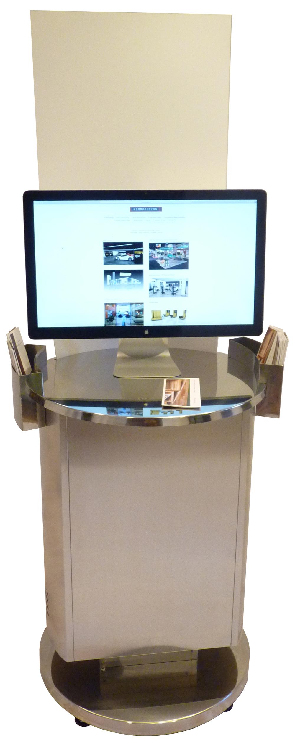 Retail Pedestal Kiosk