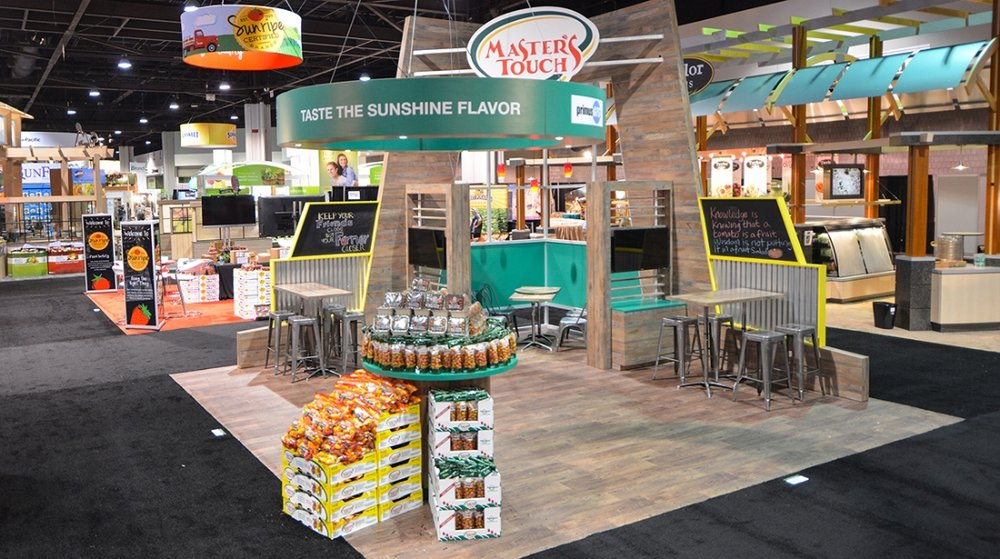 Mastes Touch, Tradeshow Exhibit
