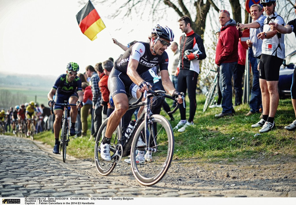 Fabian Cancellara in the 2014 E3 Harelbeke