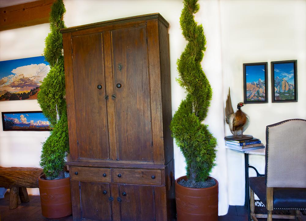 topiary, interiors, santa fe, design