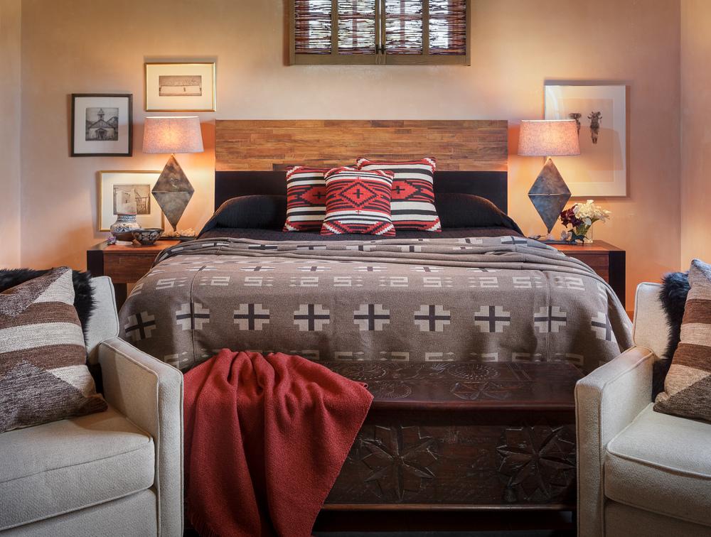 Aspen, Taos, Santa Fe style decoration interiors
