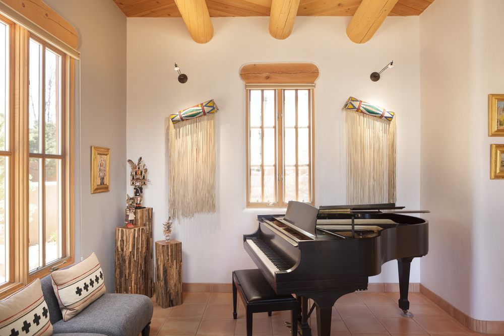 High end interiors, Taos, Santa Fe, design