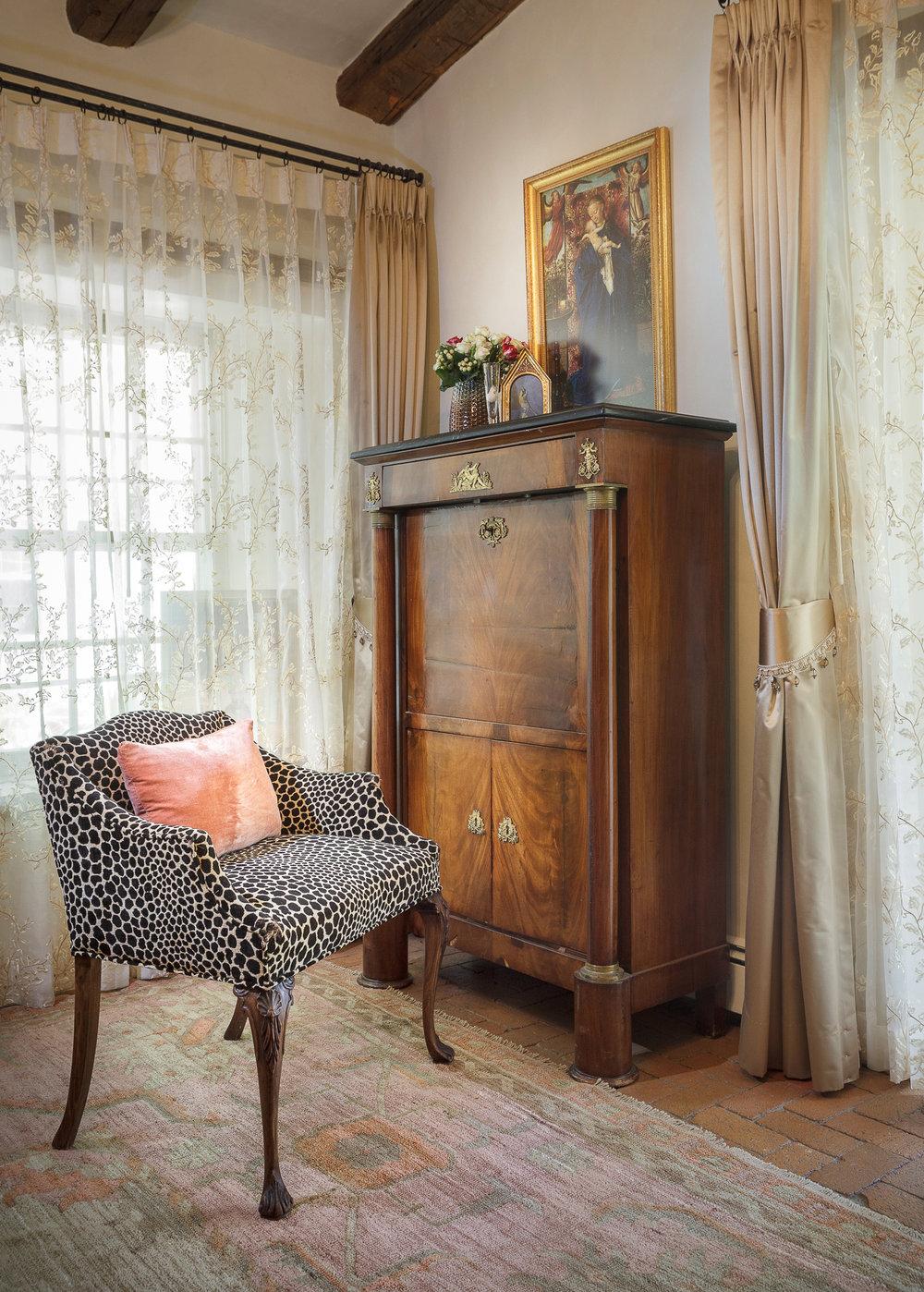 antiques, custom furnishings, French Interiors