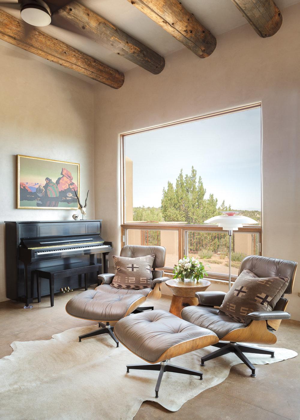 Santa Fe Contemporary Interior Design