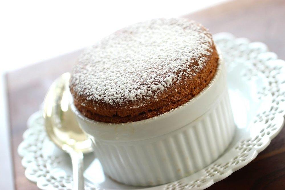 chef lex - chocolate souffle