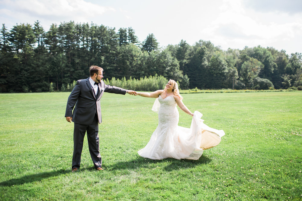 new england outdoor wedding - vermont