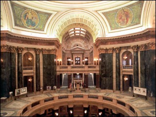 Wisconsin State Capitol. First Floor Rotunda