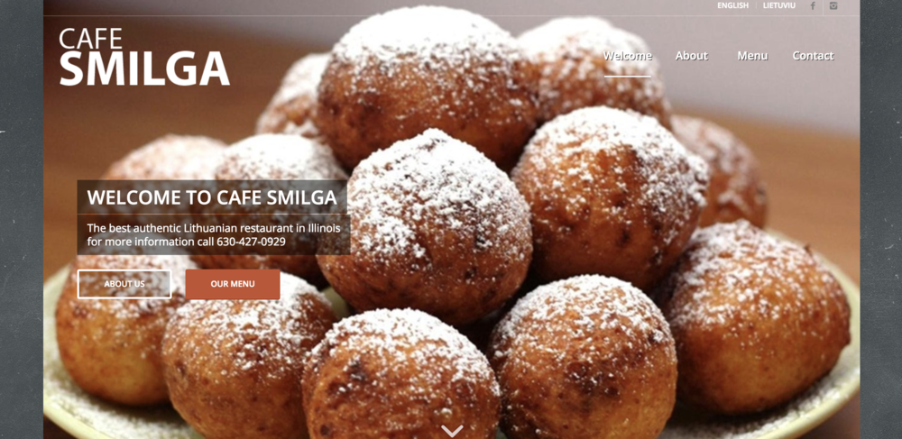 Cafe Smilga | 2819 83rd St, Darien, IL 60561 | 630.427.0929