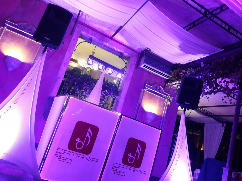 Scenografie audio luci video matrimoni catania u catania e eventi