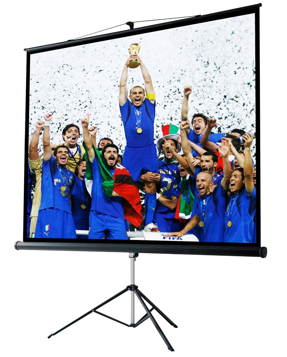 Noleggio Schermo - In offerta da 29,99€Schermi per videoproiezioni da 1.80mt o 2.40 di larghezza.