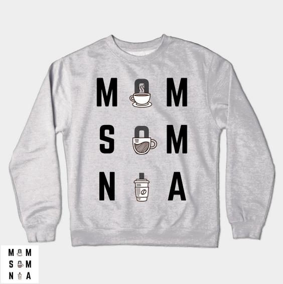 Momsomnia Crewneck Sweatshirt