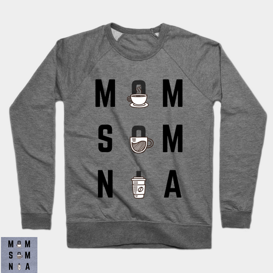 Momsomnia Lightweight Crewneck