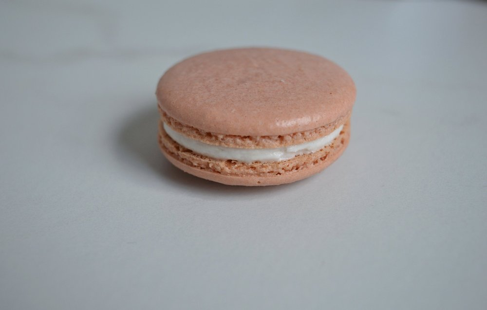 Pink Champagne: Champagne Buttercream. Champagne Syrup. (DM)