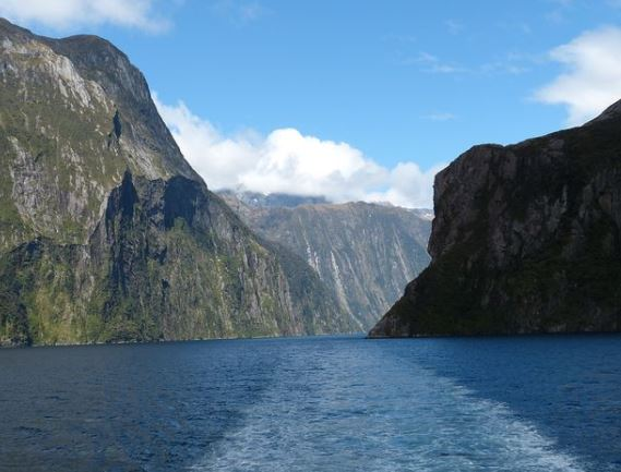 The majestic Milford Sound