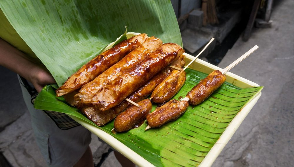 Fried banana is popular all through South East Asia (for good reason!)