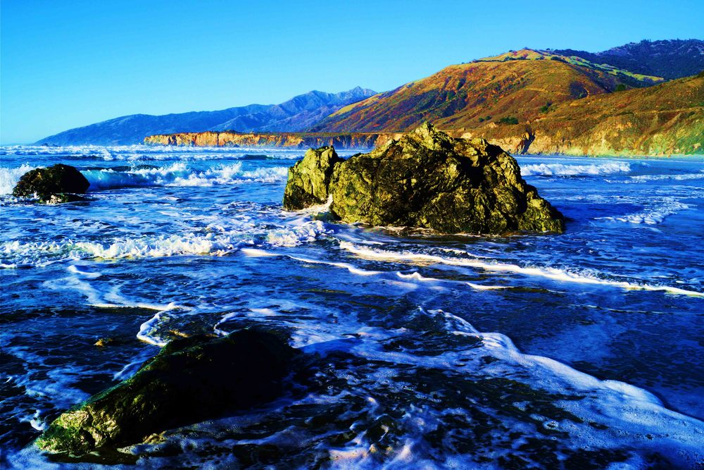 Big Sur, California, January 2013