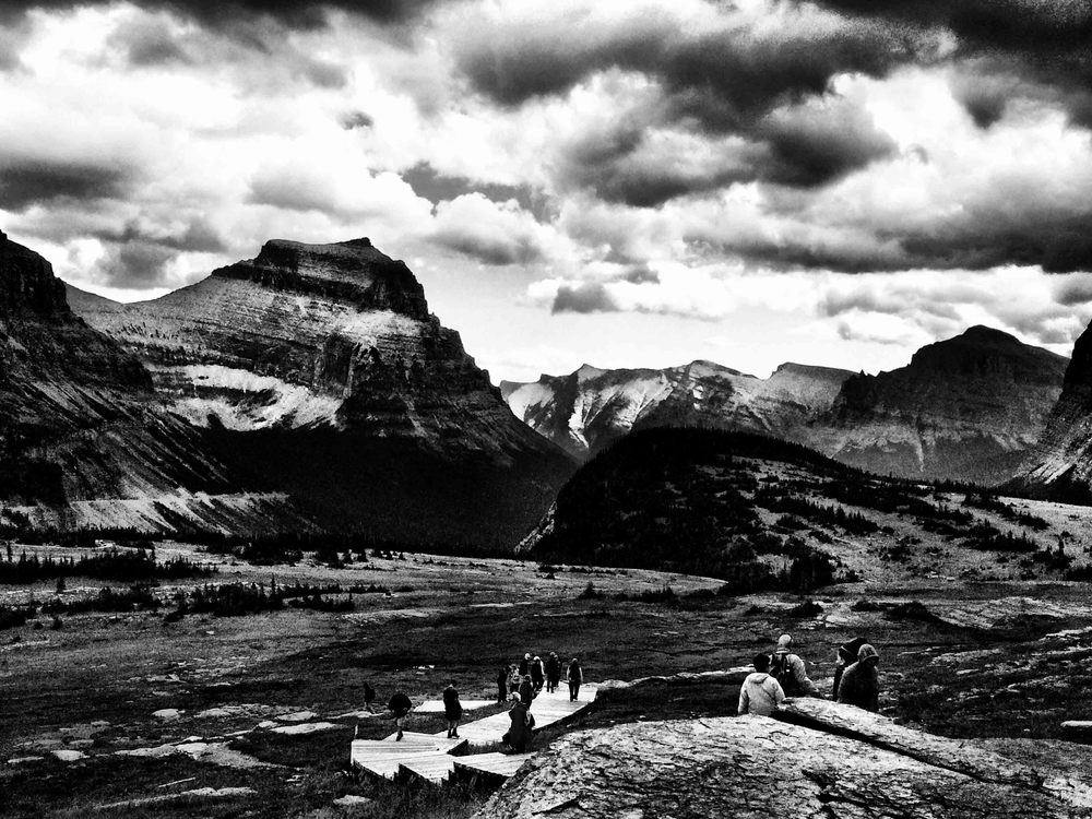 Glacier National Park, Montana, August 2015