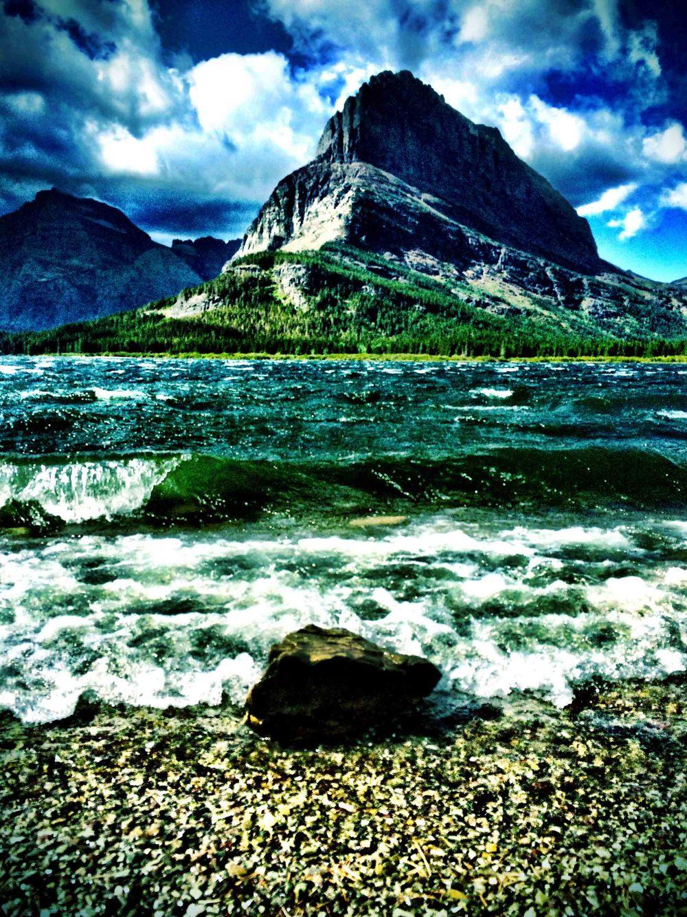 Two Medicine, Glacier National Park, Montana, August 2015