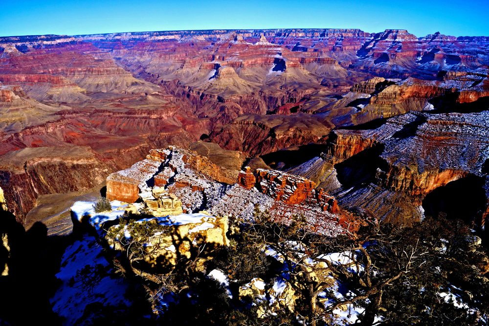 Hermit's Rest, Grand Canyon, January 2015