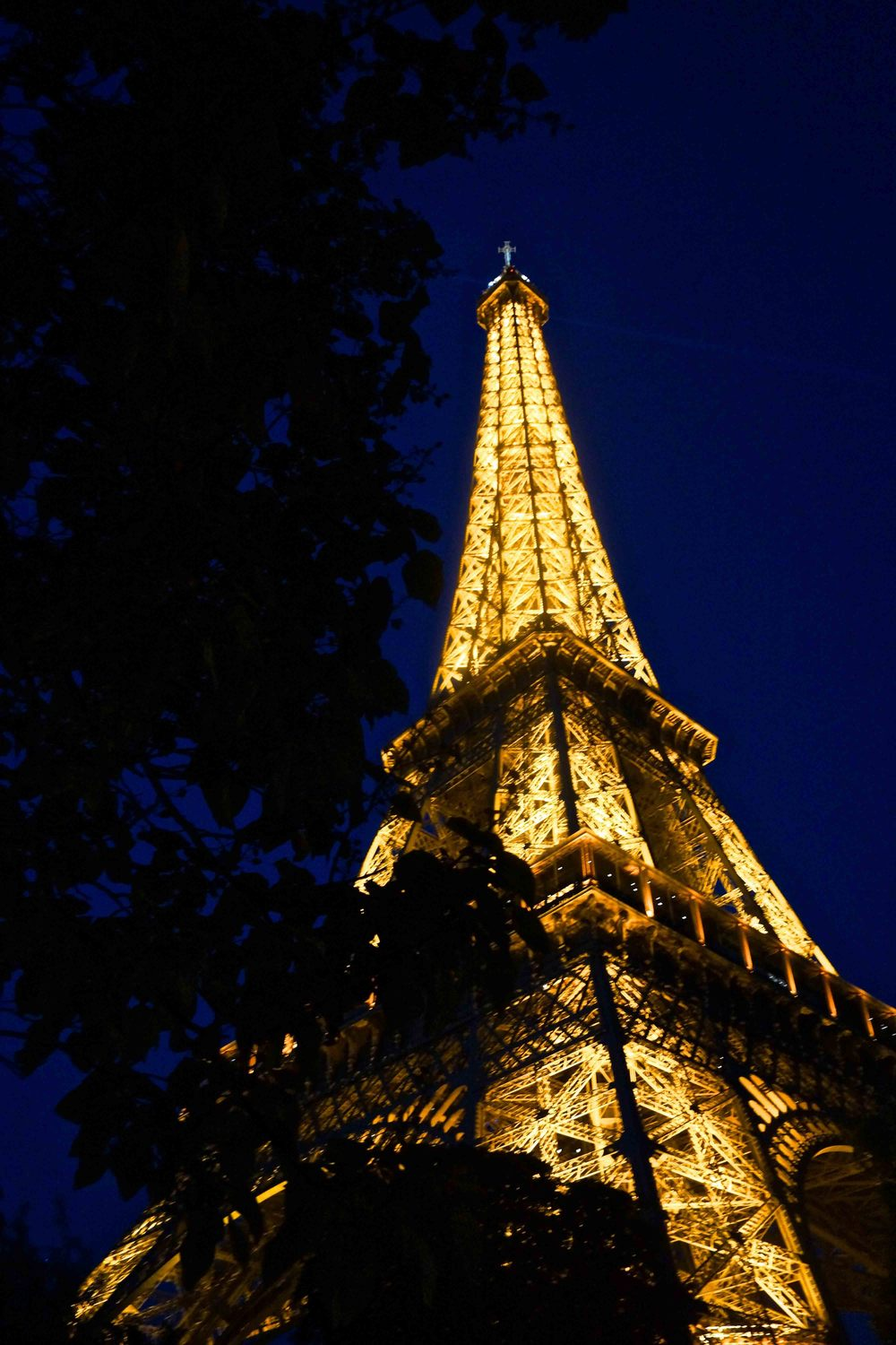Eiffel Tower, Paris, July 2015