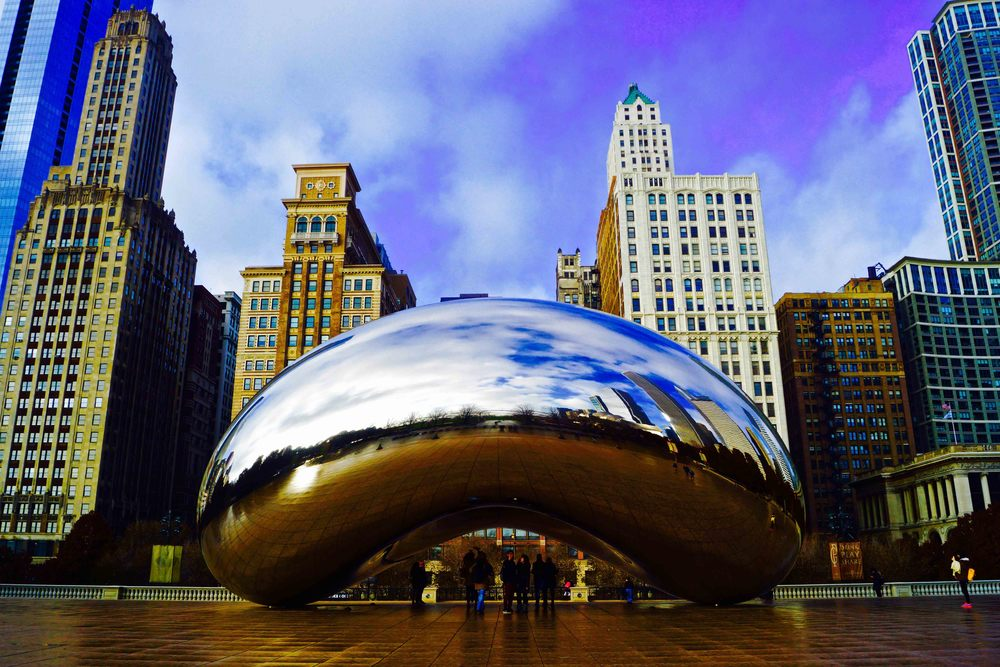 Millennium Park, Chicago, November 2014