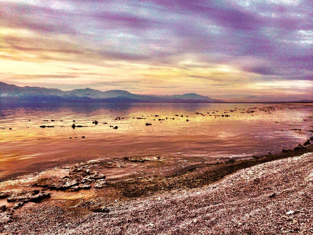 Salton Sea, California, December 2015