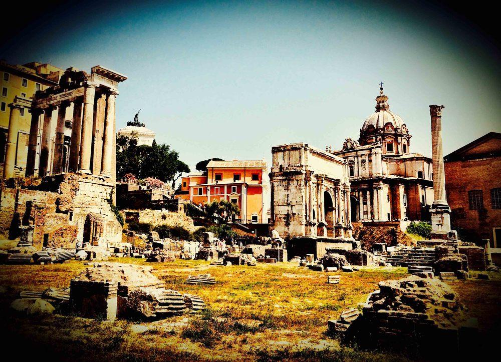 Roman Forum, Rome, July 2015