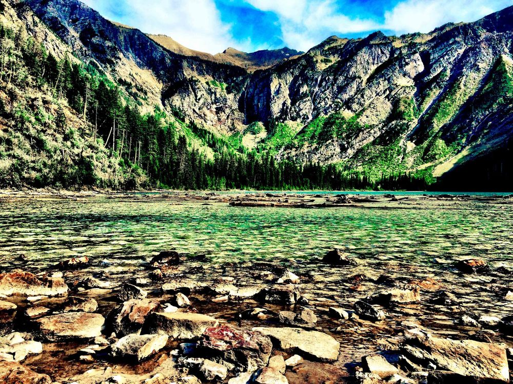 Avalanche Lake, Glacier National Park, Montana, August 2015