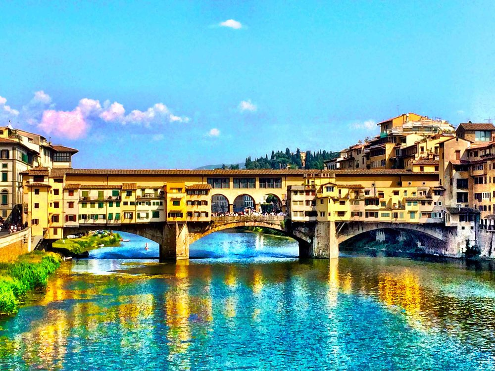 Ponte Vecchio, Florence, July 2015
