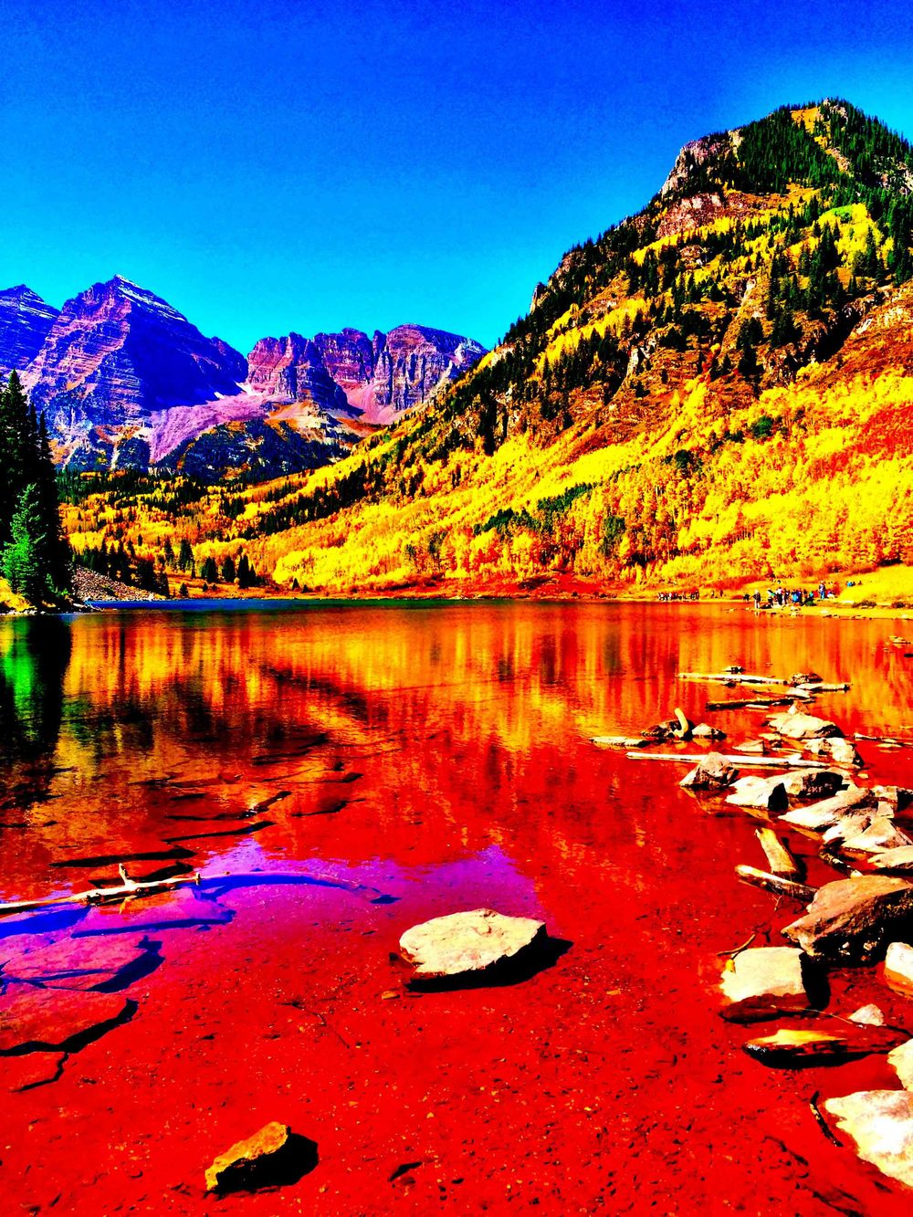 Maroon Bells, Colorado, September 2015