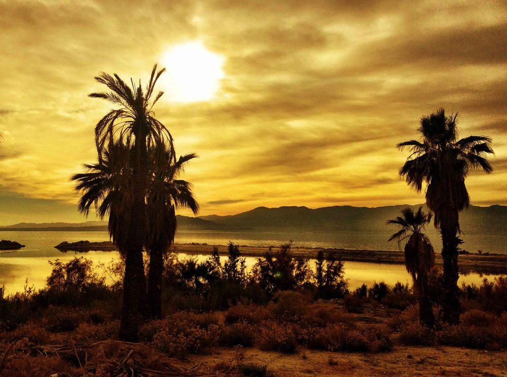 Salton Sea, California, December 2015